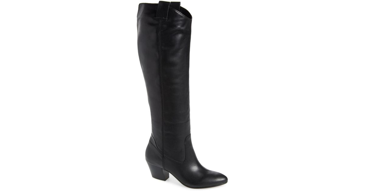 d959b47ca0d Lyst - Dolce Vita Hinley Knee High Boot (women) in Black