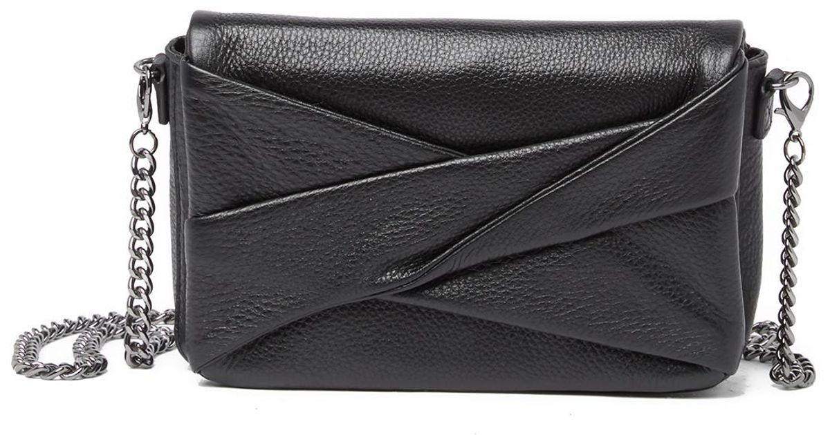 3957bb9b7bf4 Lyst - Halston Heritage Grace Small Clutch in Black