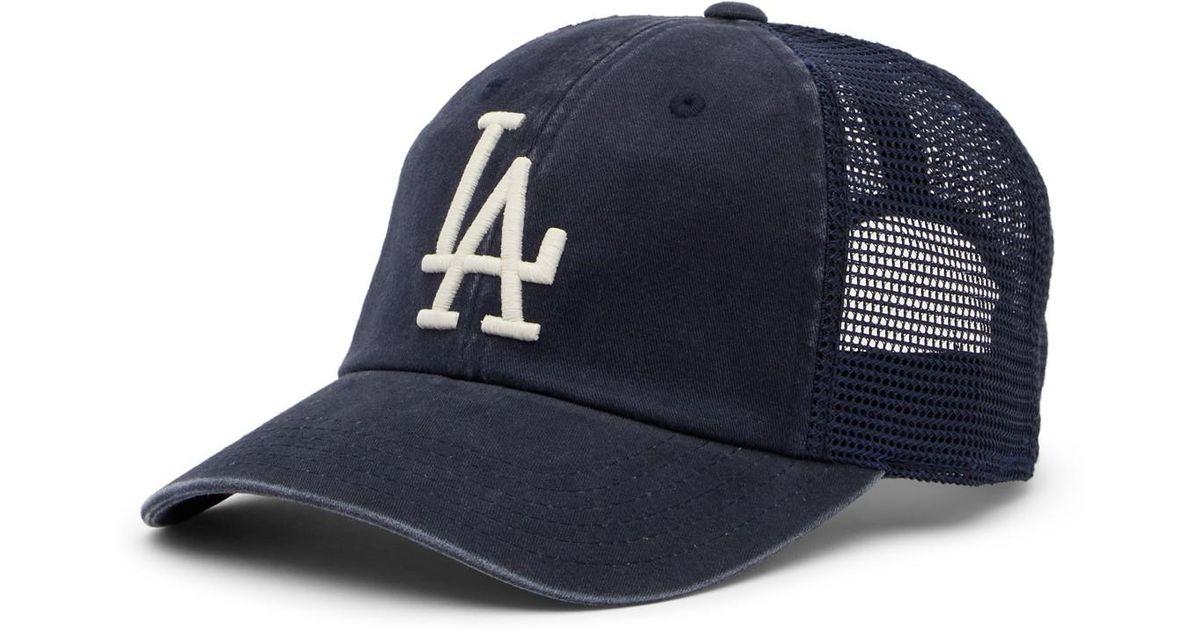 Lyst - American Needle Los Angeles Dodgers Raglan Bones Mesh Baseball Cap  in Blue for Men d43f1bad7fcd