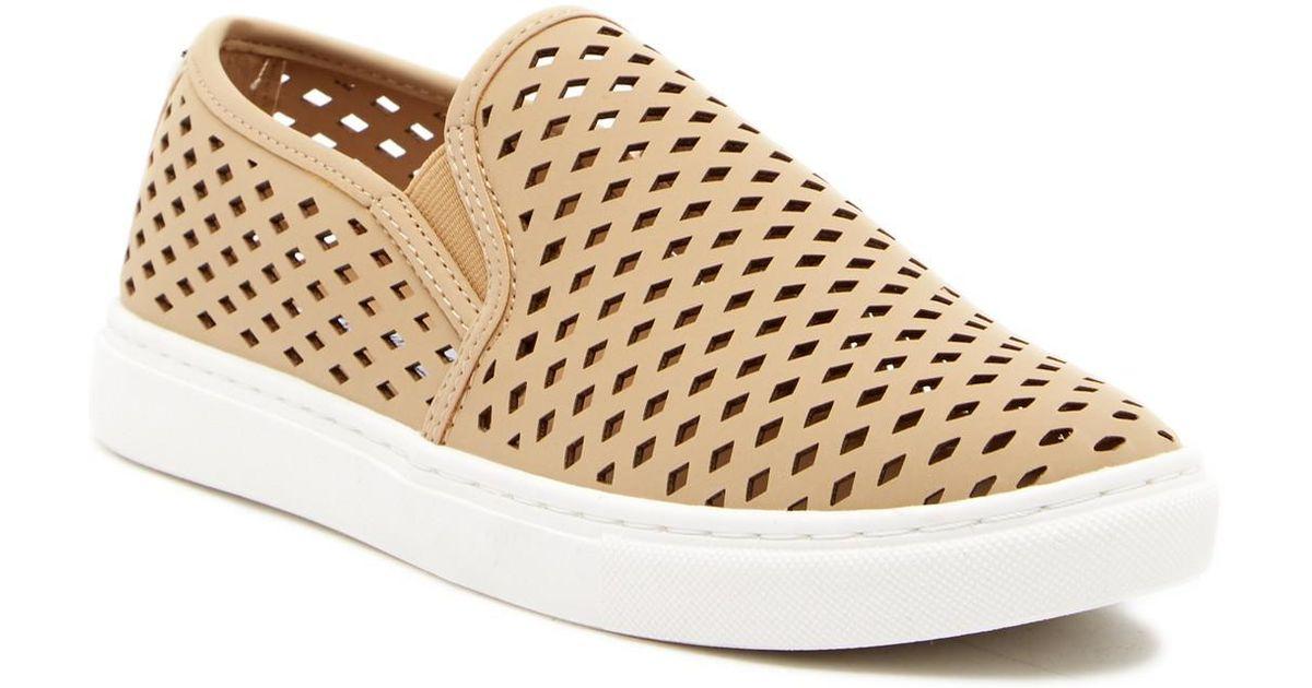 88c015b1e992 Steve Madden Zeena Slip-on Sneaker in Natural - Lyst