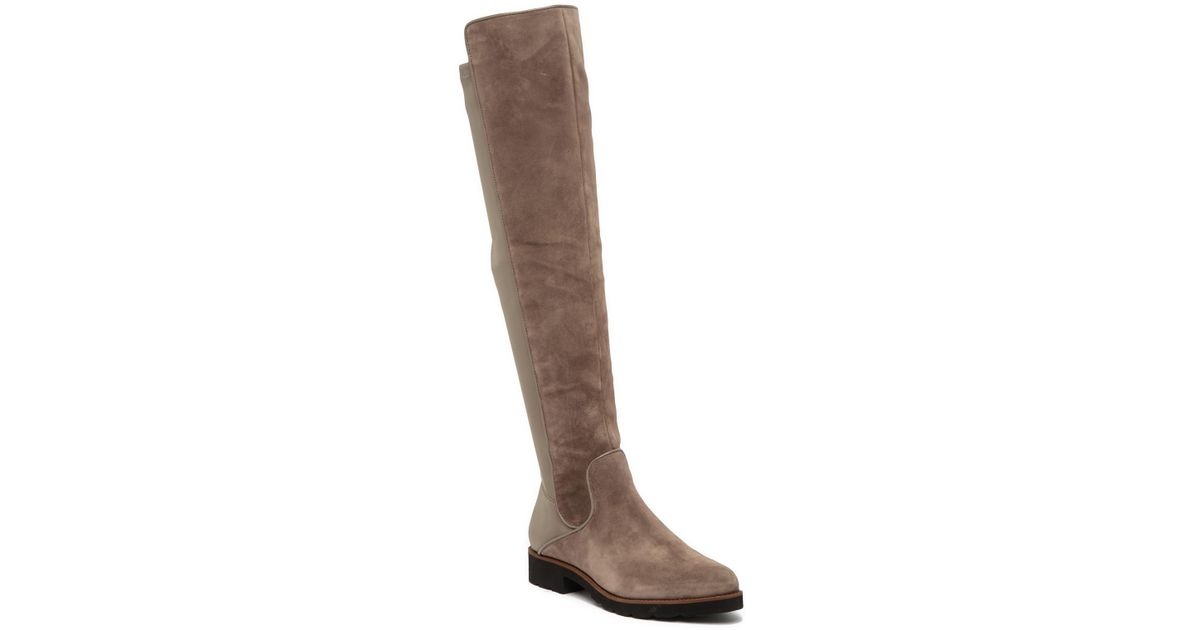 da6ff276585 Lyst - Franco Sarto Benner Leather Over-the-knee Boot in Brown