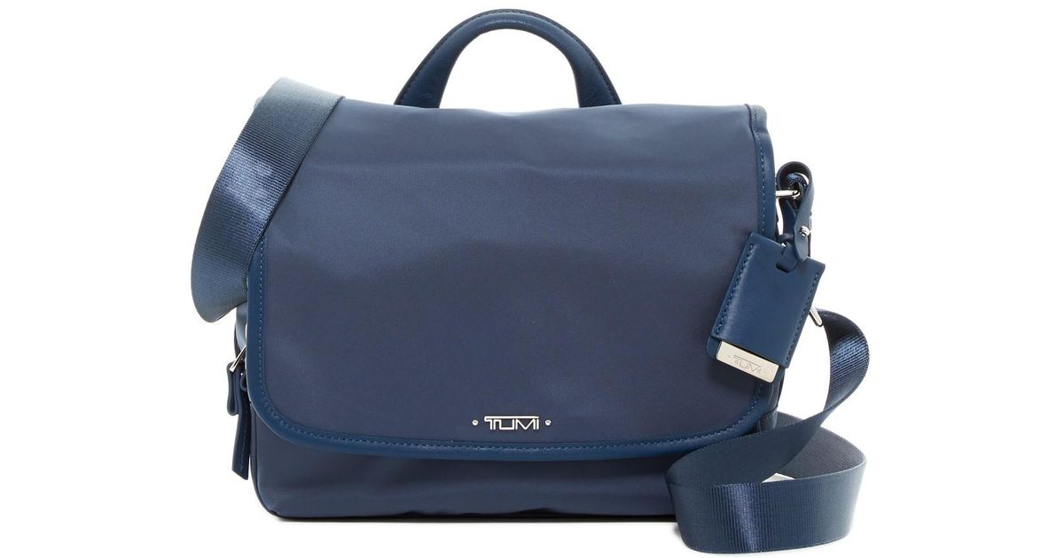 7b3c831ebf Lyst - Tumi Small Lola Messenger Bag in Blue for Men