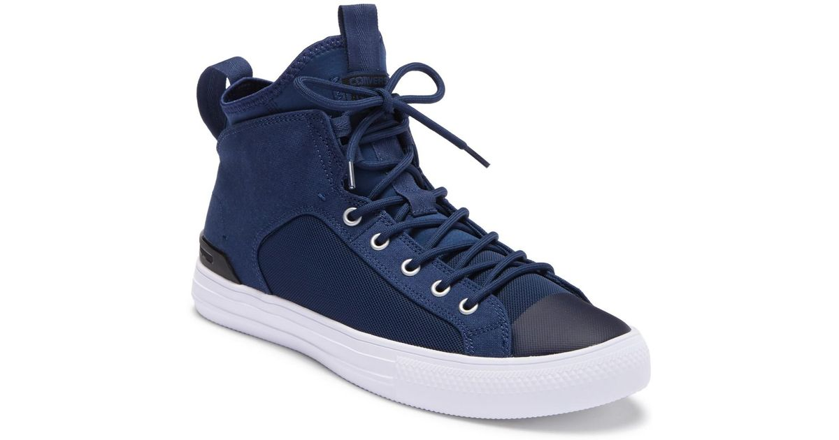 8f53c83984f6 Lyst - Converse Chuck Taylor All Star Ultra Mid Sneaker (unisex) in Blue  for Men