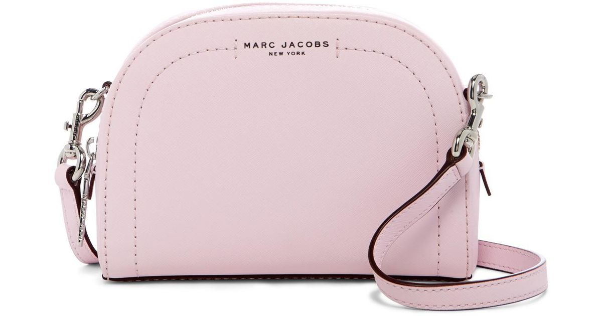 2fb61041fd Marc Jacobs Playback Leather Crossbody Bag in Purple - Lyst
