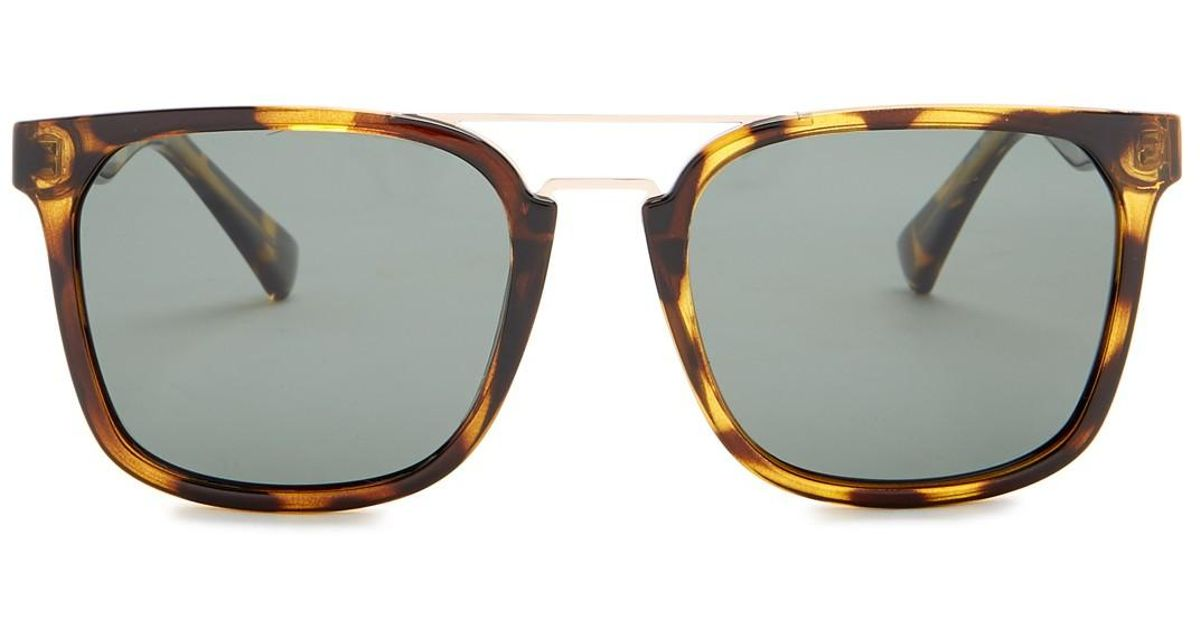 3ffb750e77f3c Cole Haan Browbar 54mm Sunglasses - Lyst