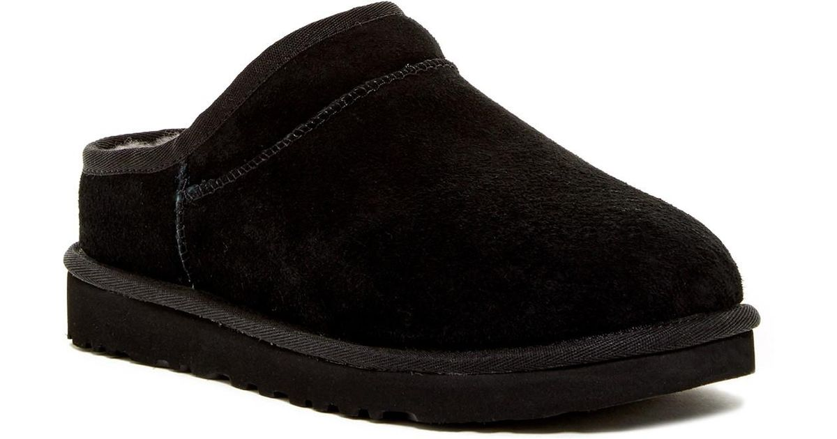 73bcd457b89d Lyst - UGG Slippers And Clogs Water Resistant Classic Women Black in Black  - Save 29%