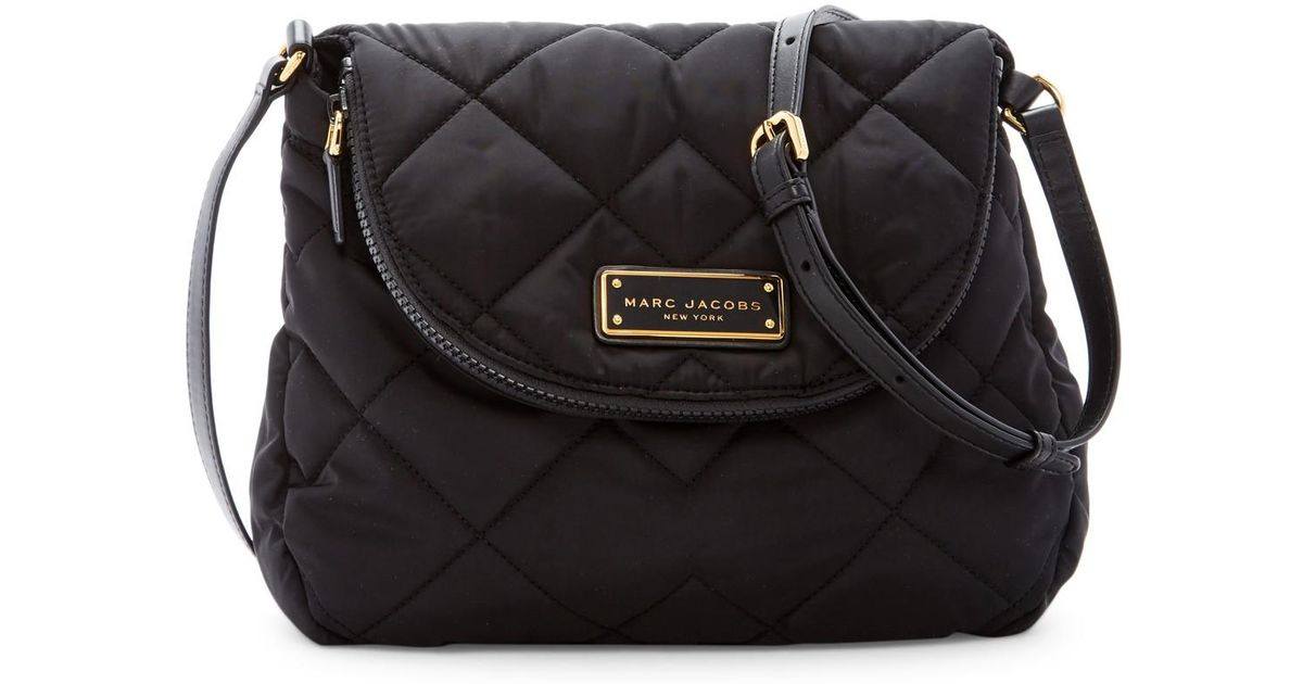 Lyst - Marc jacobs Quilted Nylon Messenger Bag in Black : marc jacobs quilted bags - Adamdwight.com