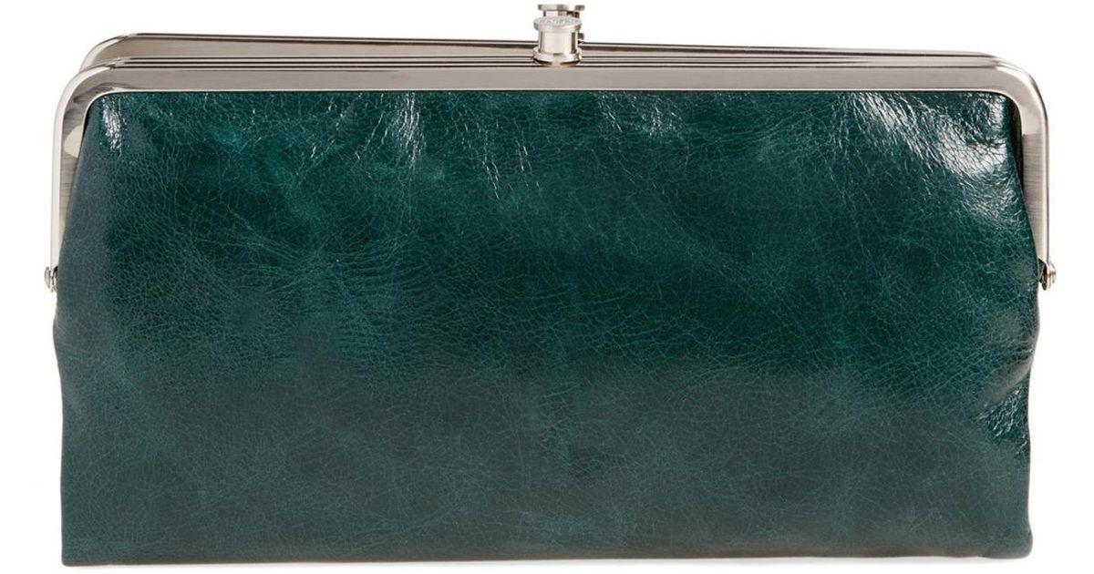 Lyst - Hobo Lauren Leather Clutch Wallet f1ad377c28b8e