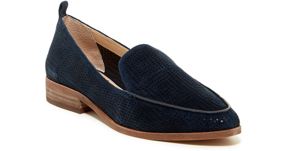 183b618183d Vince Camuto Kade Cutout Loafer in Blue - Lyst