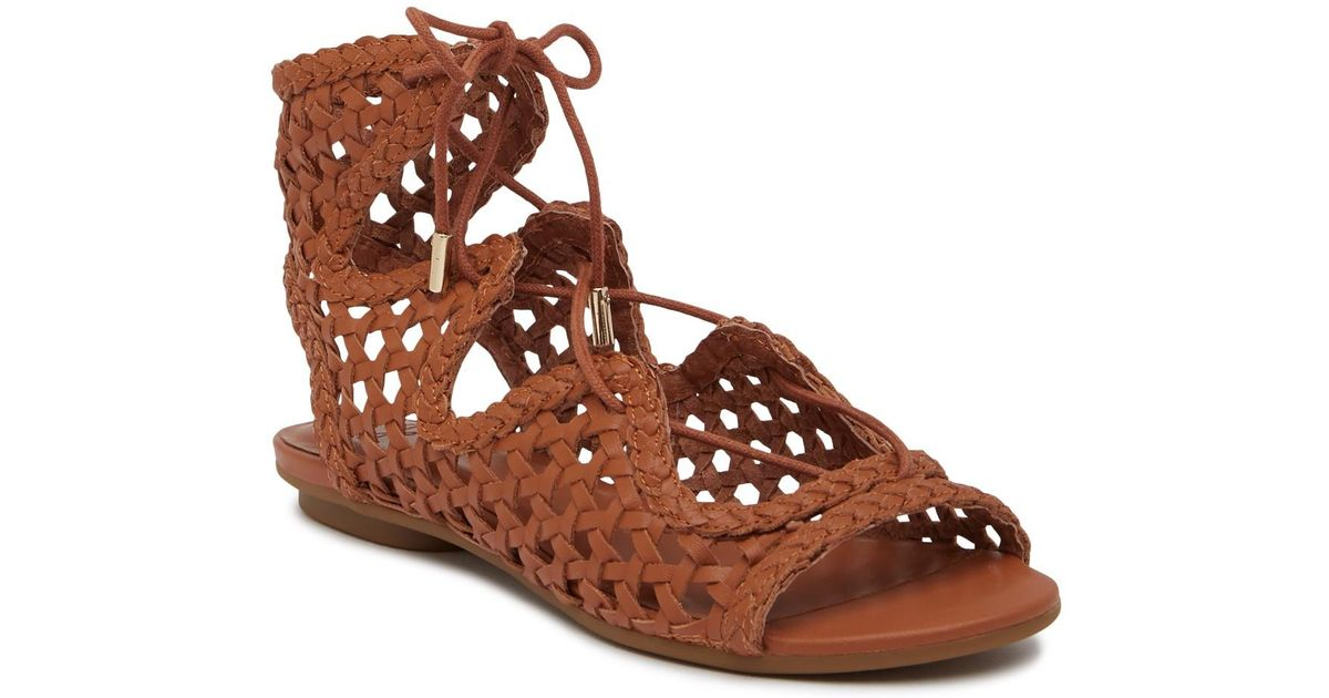 8bf117092e2 Lyst - Joie Fannie Leather Gladiator Sandal in Brown
