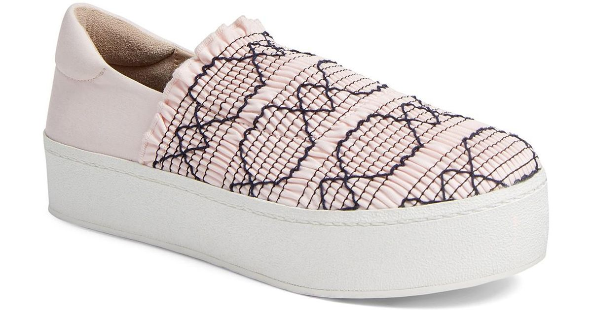 Cici smocked platform slip-on sneakers Opening Ceremony fcwCf3NrS