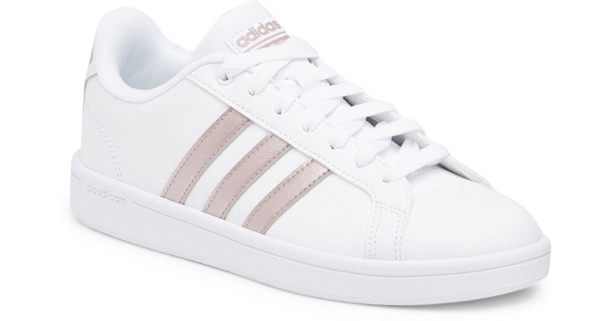 da9c6d8b0 Lyst - adidas Cloudfoam Advantage Sneaker in White