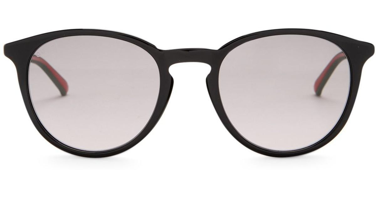Lyst - Gucci Men\'s Round Retro Acetate Frame Sunglasses for Men