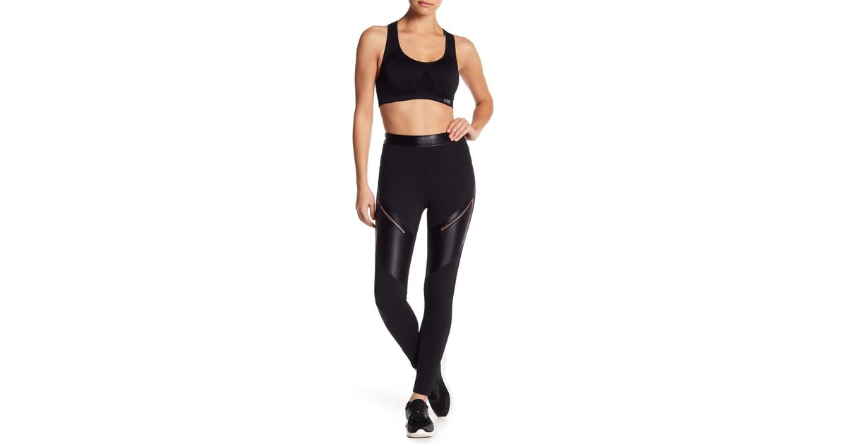 bd97be9f48347 Zella High Waist Rosy Days Ankle Leggings in Black - Lyst