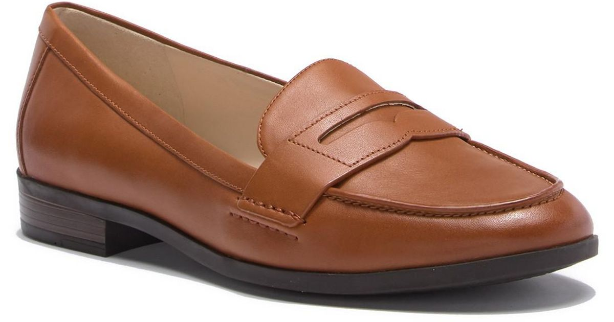 89de996260f Lyst - Cole Haan Pinch Grand Penny Loafer in Brown