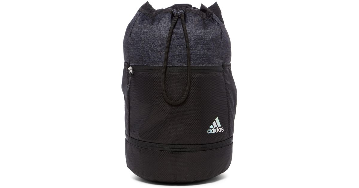 Lyst - adidas Squad Bucket Backpack in Black for Men 418e101a39f20