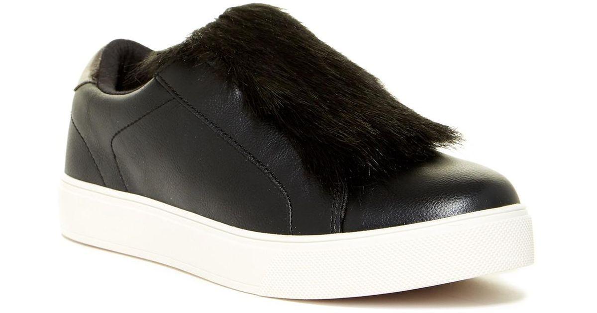Aldo Craerien Faux Fur Trimmed Slip-On Sneaker ruXxp