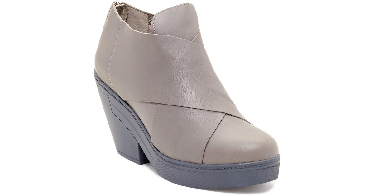 a07d24a4f65 Lyst - Eileen Fisher Cosmos Bootie in Gray