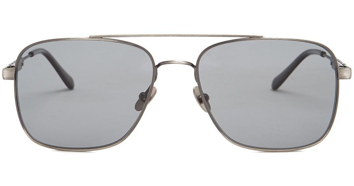 779471af5b9 Lyst - Bottega Veneta Men s Caravan Sunglasses in Gray for Men