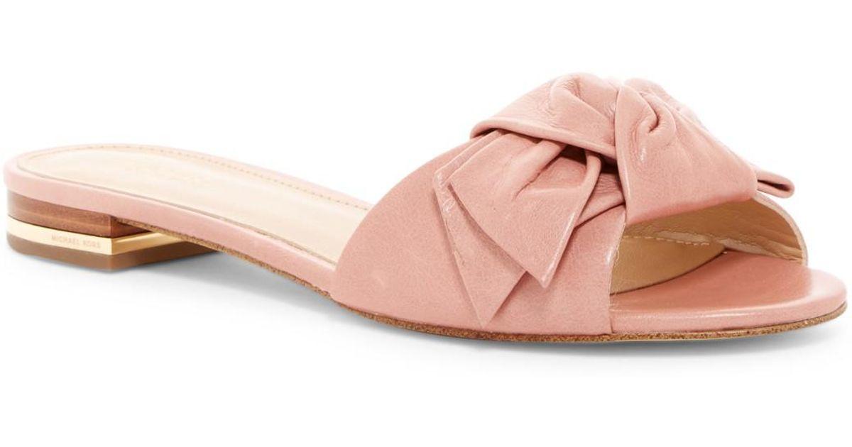 MICHAEL Michael Kors Willa Tie Slide Sandal 12e9qZD4GM