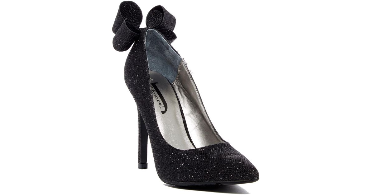 dd1e37ec81b Lyst - J. Reneé Brigitte Black Mesh Pump - Wide Width Available in Black