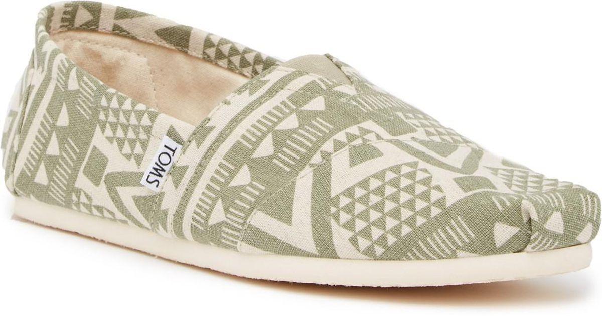 TOMS Geo Print Slip-On Shoe oOduf