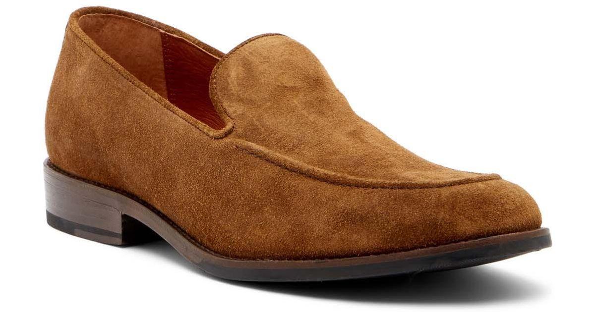6991ab2d4b4 Lyst - Frye Jefferson Venetian Suede Loafer in Brown for Men