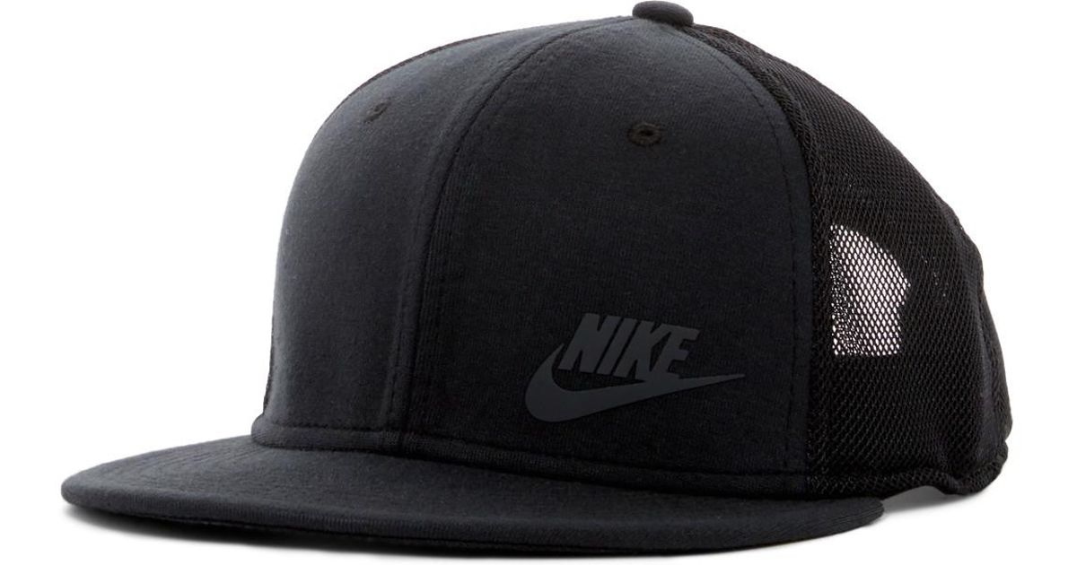 1a24dc8d916 Lyst - Nike Tech Pack True Snapback Cap in Black for Men