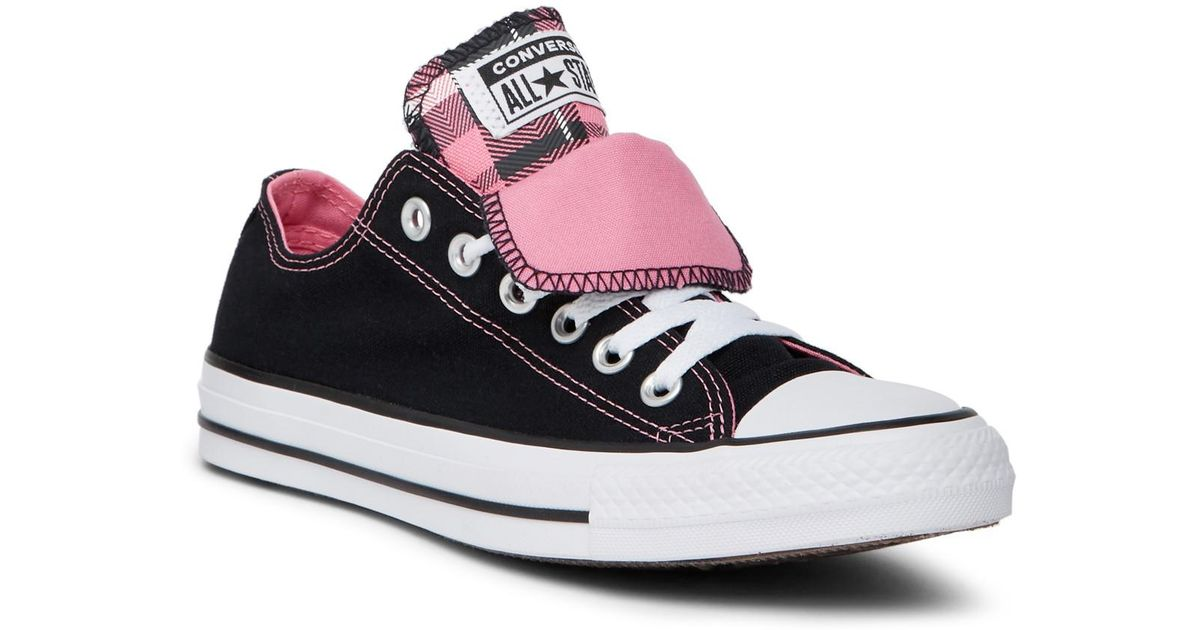 2dc7b669ddaed6 Lyst - Converse Chuck Taylor Double Tongue Sneaker in Pink