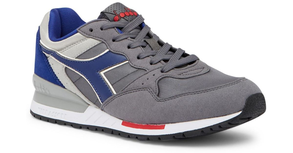 Diadora Blue Intrepid Nylonleather Sneaker for Men Lyst