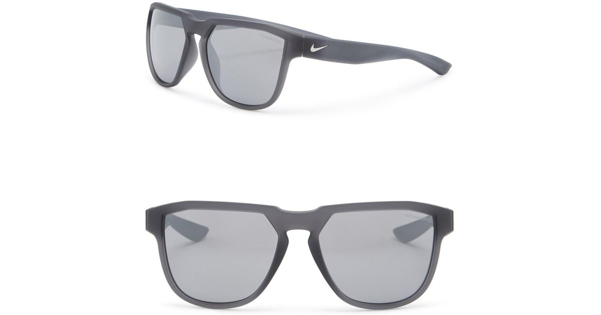 d2d0943e3b Nike Fly Swift 57mm Square Sunglasses in Gray for Men - Lyst