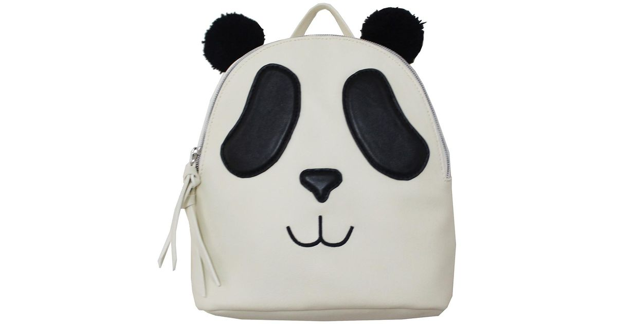 great deals shoes for cheap top brands T-Shirt & Jeans Black Panda Backpack