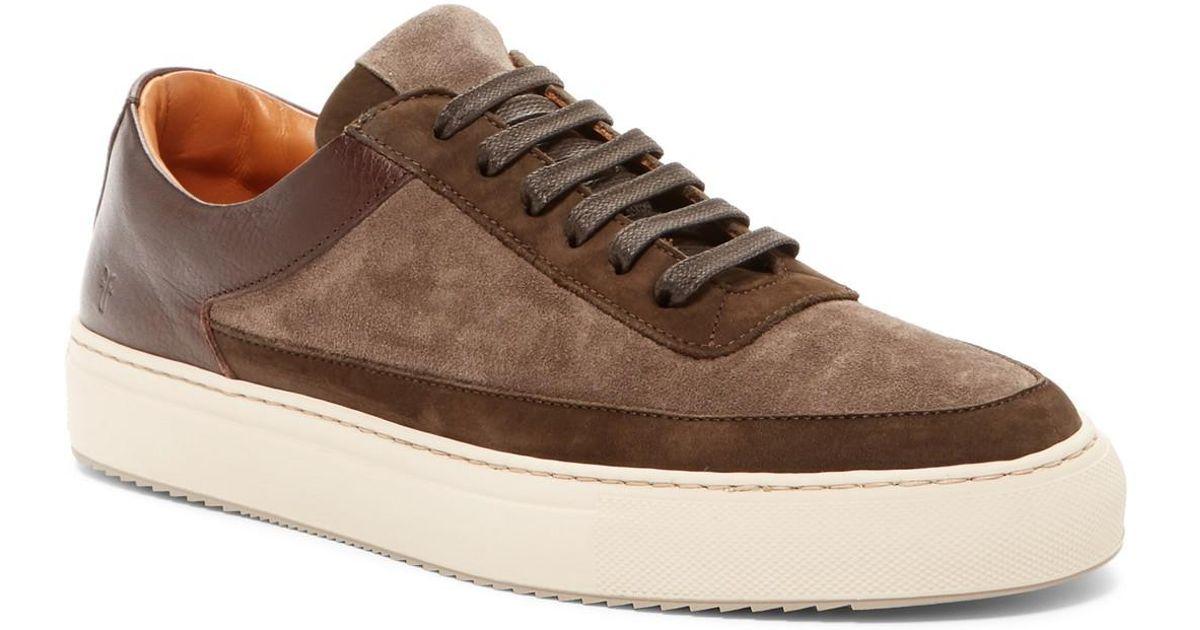Frye Clyde Low Leather Sneaker 6Iap9mG2D