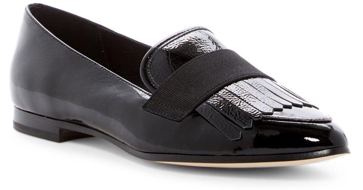 f3392c80f6e3 Lyst - Kate Spade Cayla Fringe Loafer in Black