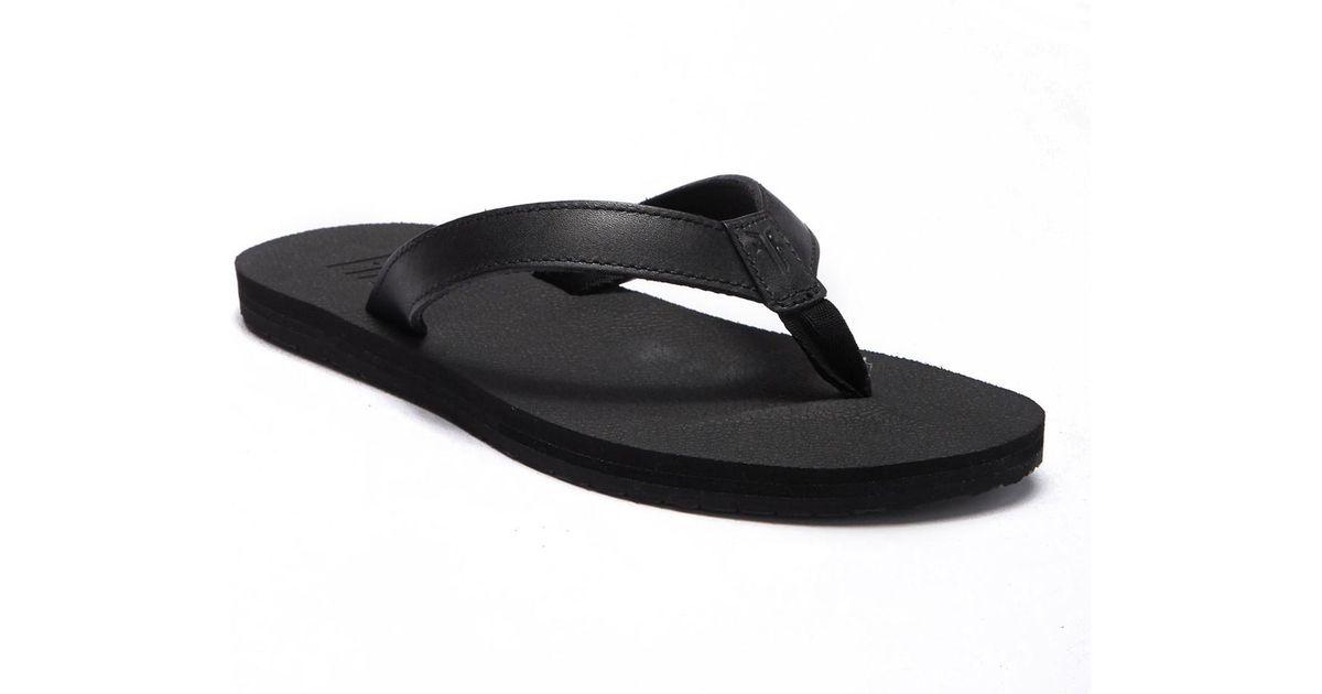a25ad099eff750 Lyst - Frye Theo Eva Flip Flop in Black for Men