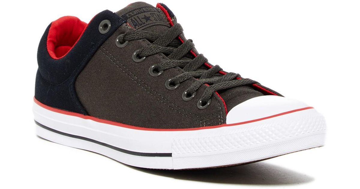 Lyst - Converse Chuck Taylor All Star High Street Ox Low-top Sneaker  (unisex) in Black for Men bde5db0a4