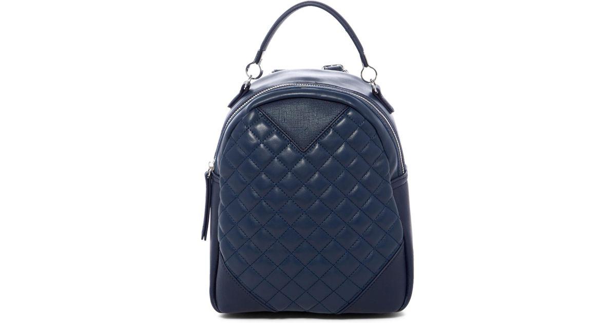ef799dbf73 Lyst - Urban Expressions Dublin Pod Vegan Leather Mini Backpack in Blue