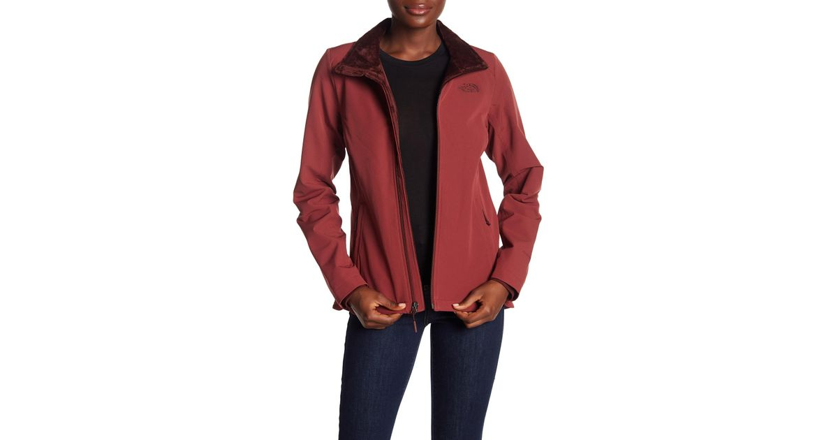 discount collection affordable price clearance sale The North Face Red Lisie Raschel Fleece Jacket