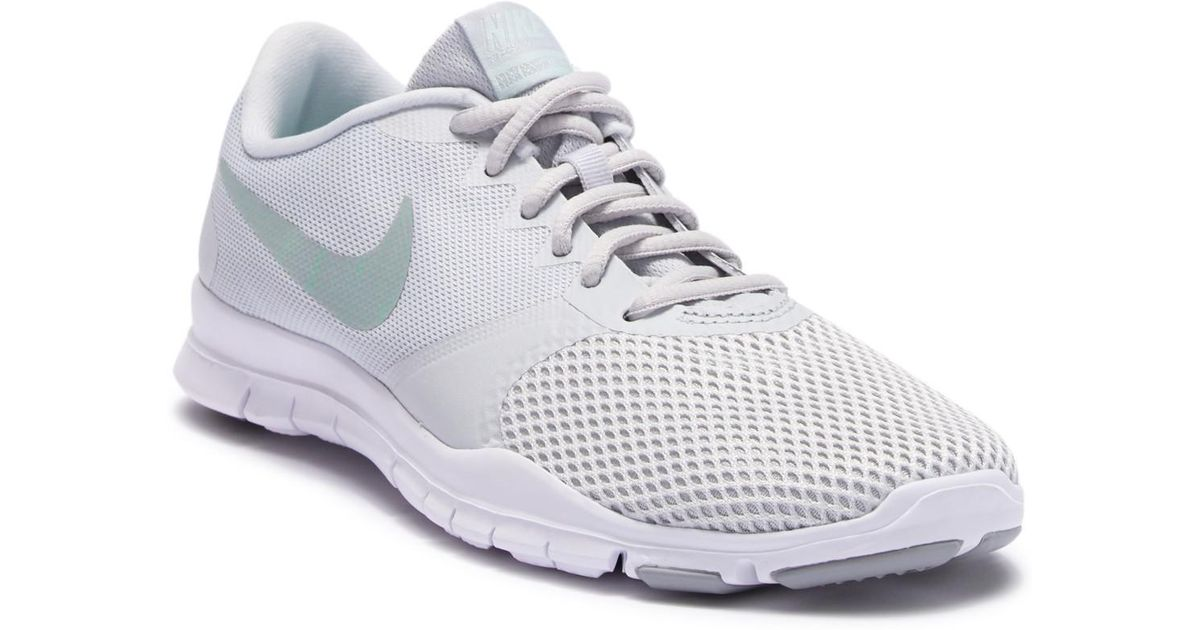 8f1890adf13ed Lyst - Nike Flex Essential Tr Trainer Sneaker in White