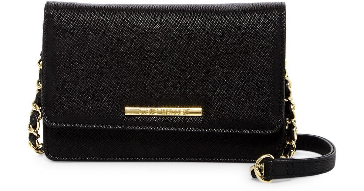 64d5cf00c0c Lyst - Steve Madden Terry Crossbody in Black