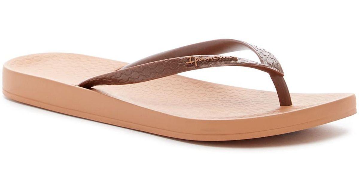 794d358a3d3 Lyst - Ipanema Ana Tan Flip Flop in Brown