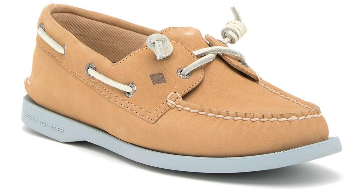 Sperry A/O Vida Leather Slip-On Boat Shoe - Wide Width Available vxxjJWi