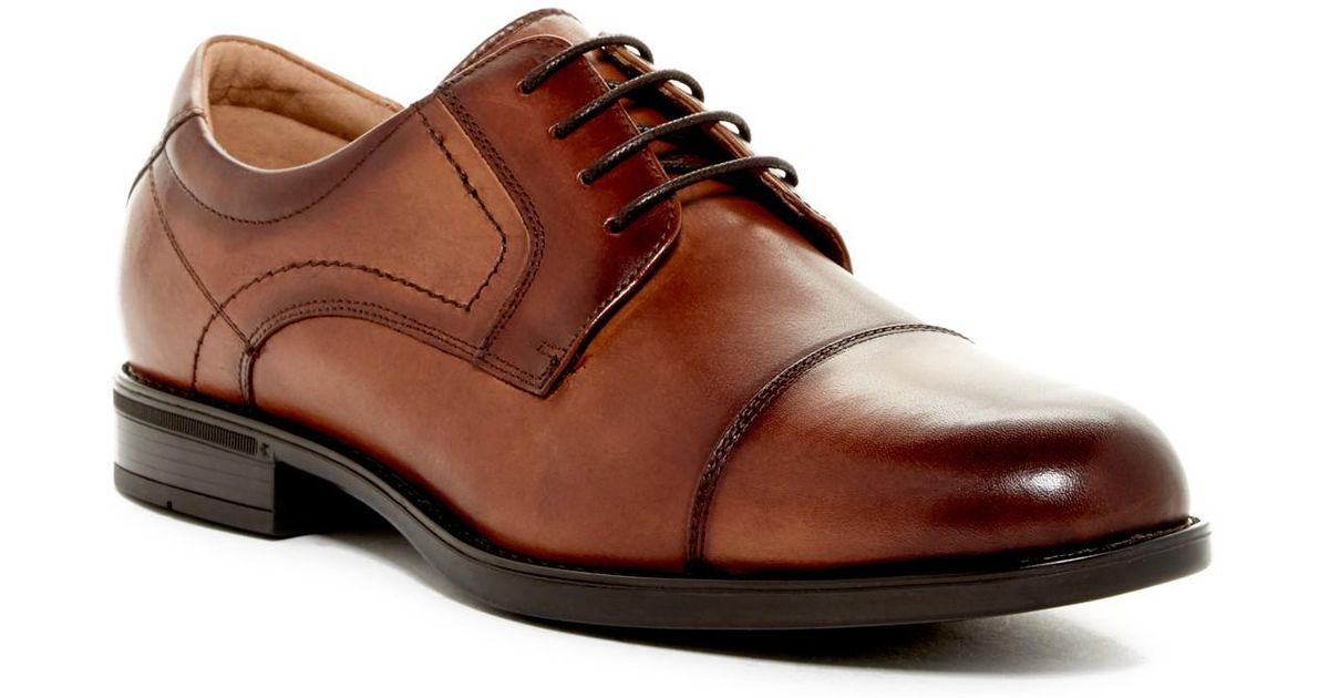 4c0462599d4f51 Florsheim Center Cap Toe Derby - Wide Width Available in Brown for Men -  Lyst