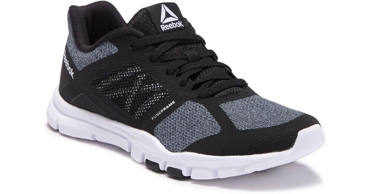 866a3eec4ee9 Lyst - Reebok Yourflex Trainette Training Sneaker in Black