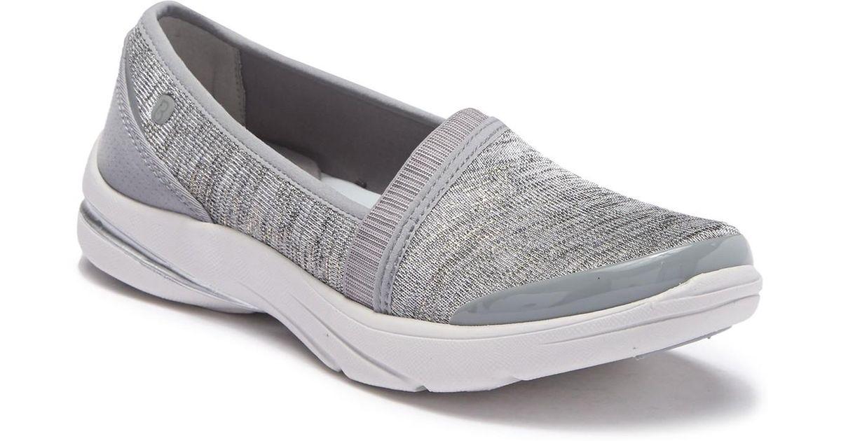 1d9f3ec15931 Lyst - Bzees Lollipop Mesh Slip-on Sneaker - Wide Width Available in Gray