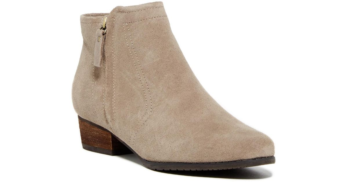 Blondo Ingrid Waterproof Suede Bootie - Wide Width Available AUFvq4qg