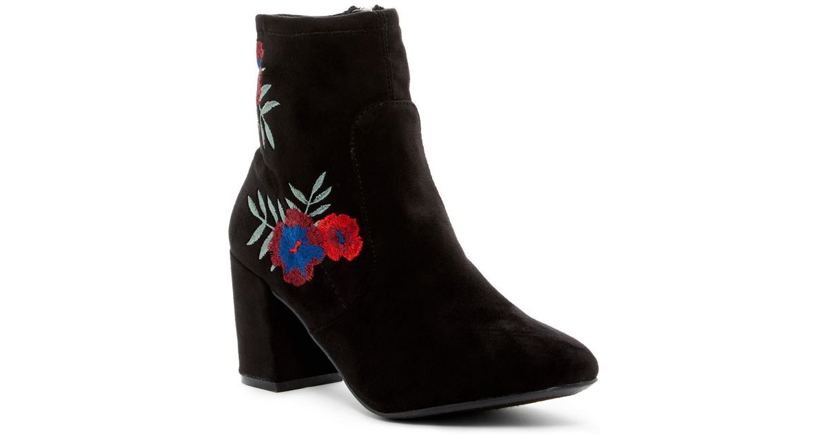Rampage Itsie Floral Embroidered Boot afDOR9