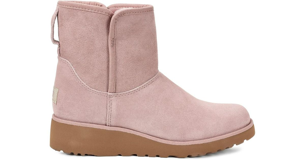 2d82e07d599 Ugg - Multicolor Kristin Classic Slim Water Resistant Suede Mini Boot - Lyst