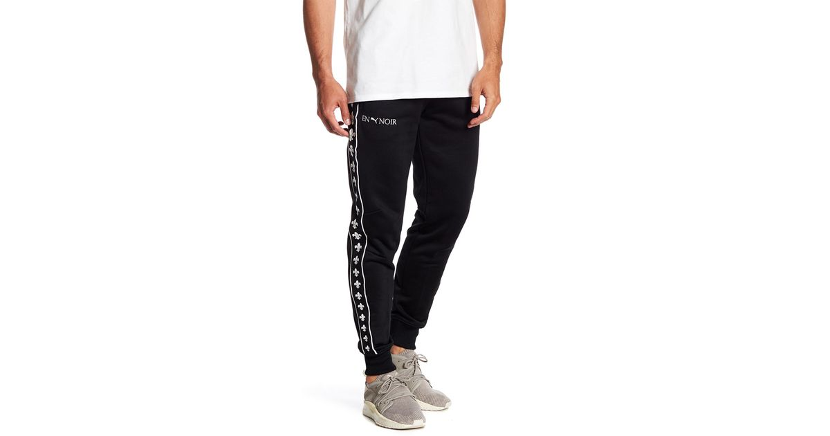 Lyst - PUMA En Noir T7 Track Pants in Black for Men 98f27055f559