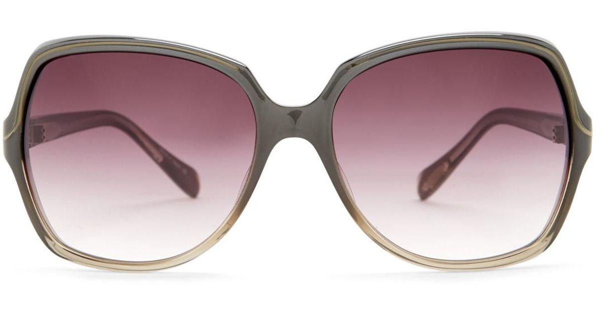 bdb5cc536752 Oliver Peoples Women's Ilana Sunglasses - Lyst